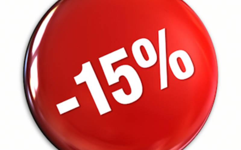 Zľava 15% z ceny pobytov 2019